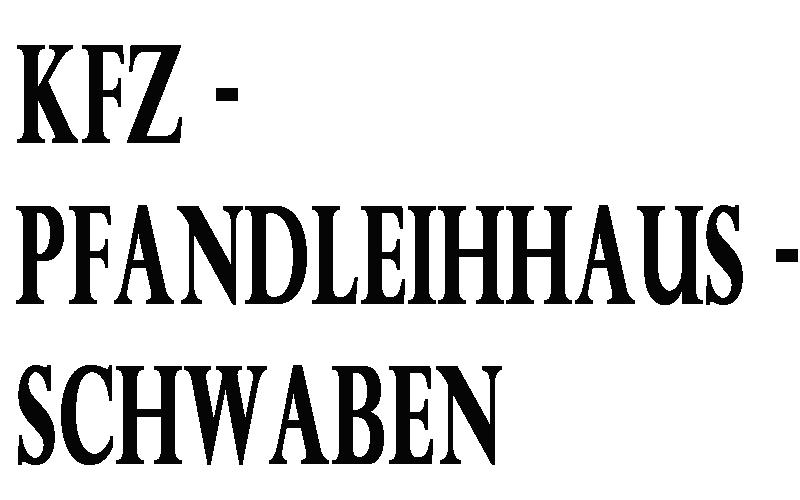 KFZ-Pfandleihaus-Schwaben